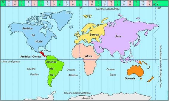 5d37fcf616d Fusos horários - Só Geografia